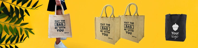Herbruikbare zakken en draagtassen