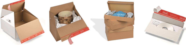 Emballages d'envoi