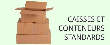 caisses et conteneurs standard