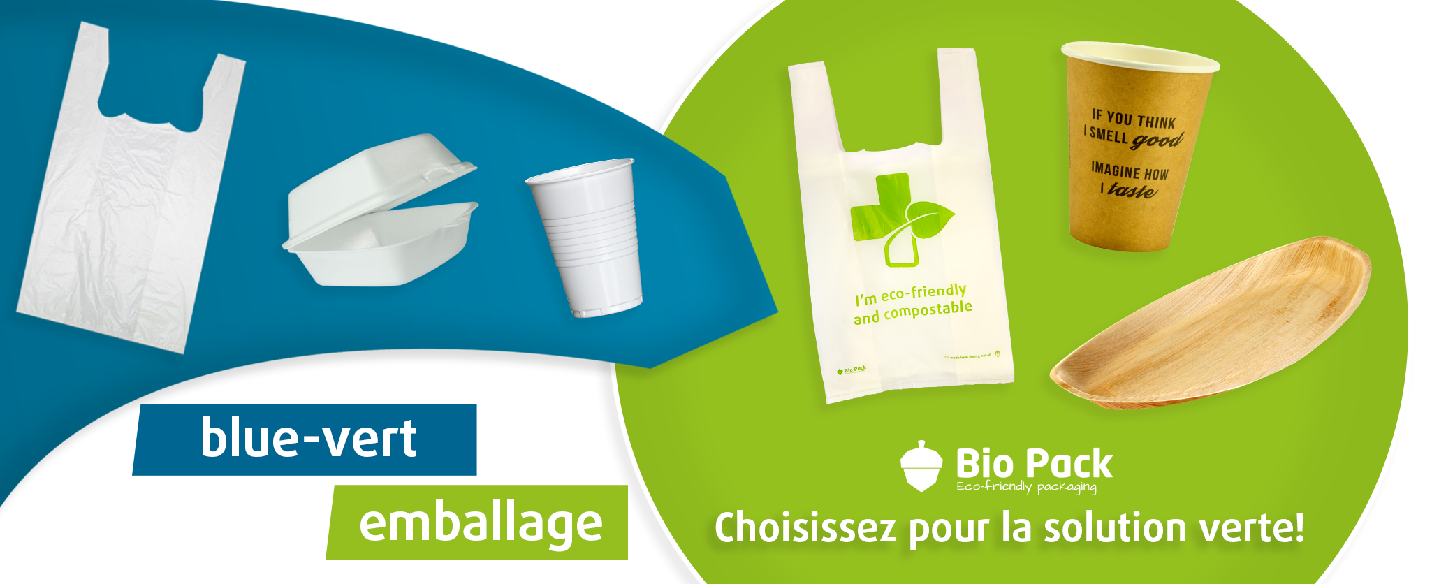 emballage blue-vert