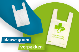 Blue-green packaging