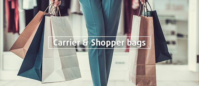 Carrier bags & Shopper bags