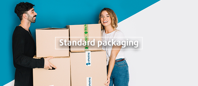 Standard industry packaging