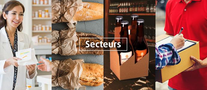 Emballages pour votre secteur