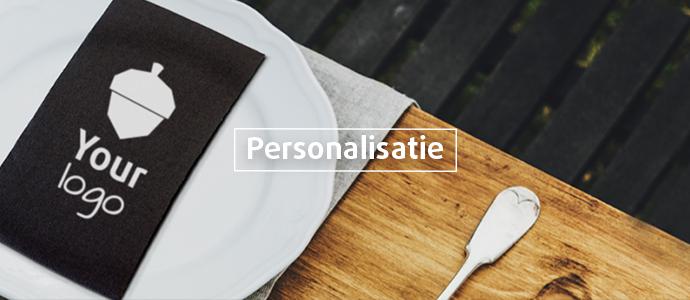 Personalisatie en bedrukkingen van verpakkingen